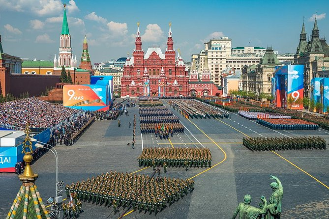 Moscow: 2-Hour Red Square and Zaryadye Park Private Tour