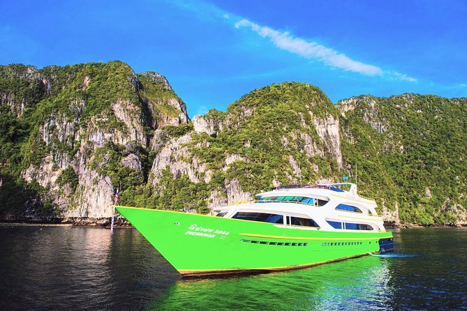 Koh Lanta to Koh Yao Yai by Chao Koh Ferry and Koh Yao Sun Smile Speed Boat