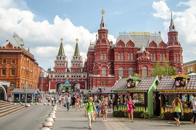 Moscow: 3-Hour Kremlin & Red Square Tour With Hotel Pickup