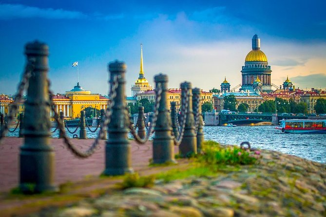 Explore St.Petersburg on foot and enjoy Private Boat Ride on the Neva River