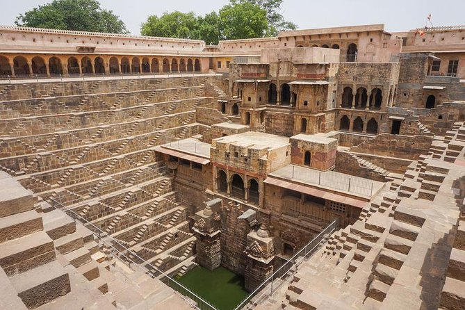 Half day tour of Chand Baori Stepwell from Jaipur
