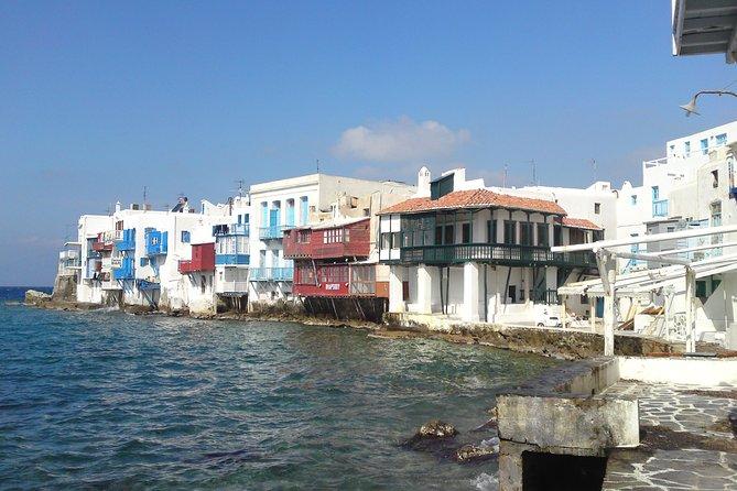 Strolling in Old Mykonos Town