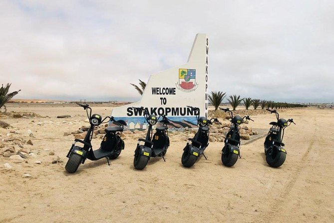 Swakopmund City Tour by Electric Bike (3 Hour Tour) photo 9