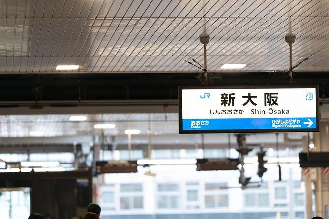 Traslado de chegada compartilhado da Estação de Trem do Japão: Estação Shin Osaka até a cidade de Osaka