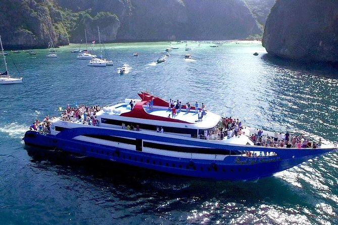 Phi Phi Island Tour by Big Boat by Royal Jet Cruiser (First Class)-Join Tour
