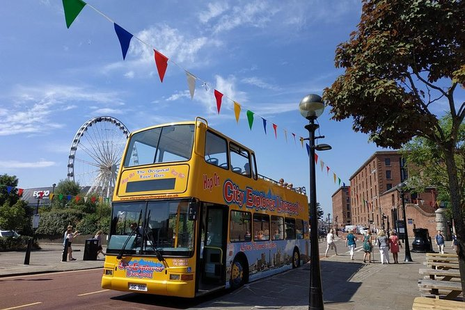 Liverpool: River Cruise with Open-Top Bus City Tour and Cathedral Tower Tour