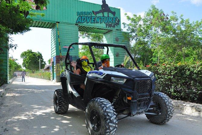 Buggy Polaris VIP & Zip line Combo at Bavaro Adventure Park