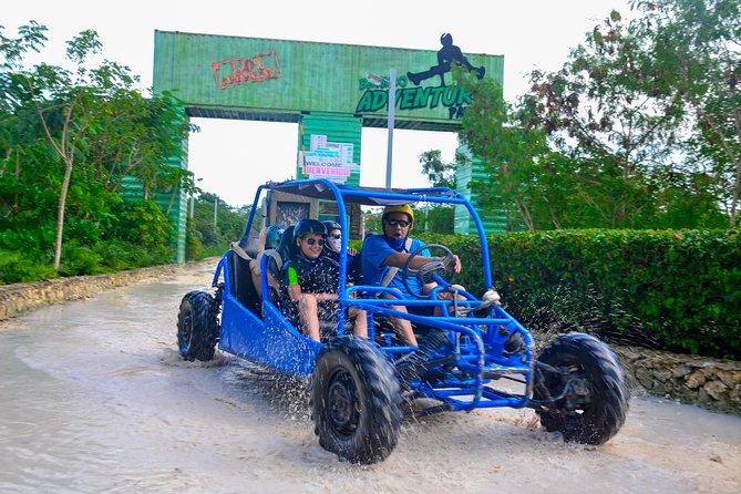 Buggy VIP and Zipline Combo at Bavaro Adventure Park