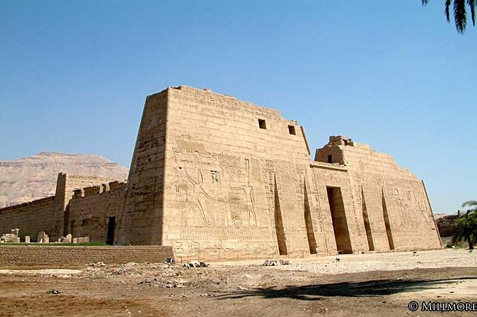 Private Habu Temple, Valley of the Artisans, Valley of the Queens from Luxor