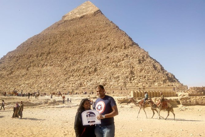 Stopover Cairo tour to The Pyramids of Giza and Sphinx photo 1