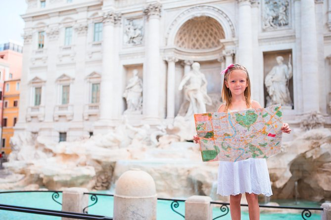 Kids friendly Guided Tour| Highlights of Rome and Hidden Treasures |Private Tour