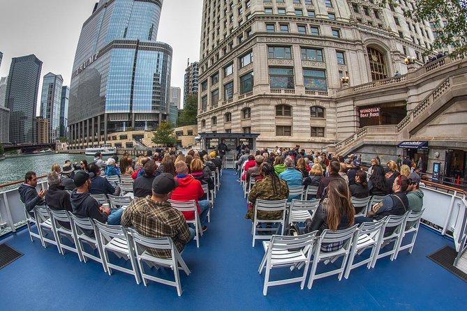 Excursão de arquitetura de 45 minutos pelo rio Chicago
