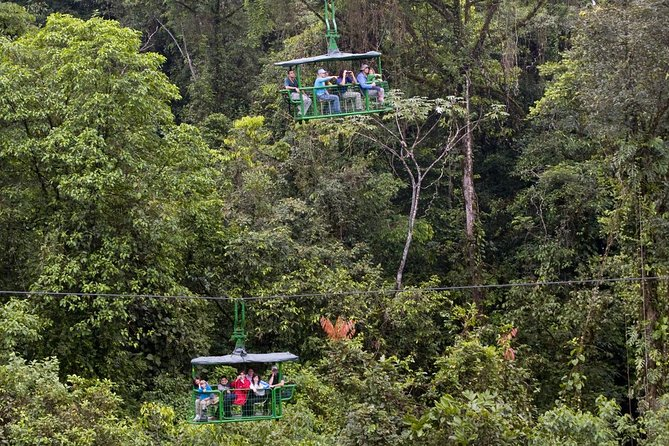 Rain Forest Aerial Tram From San Jose