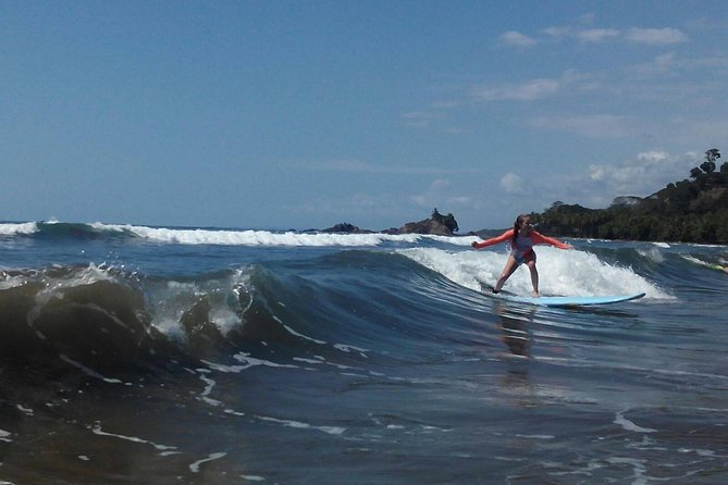 Surf Lesson from Manuel Antonio