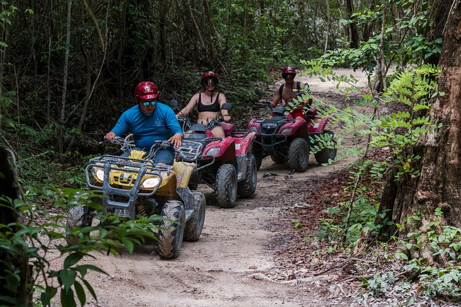 Tortugas Jeep Adventure & ATV Cenote Jade Experience (Private)