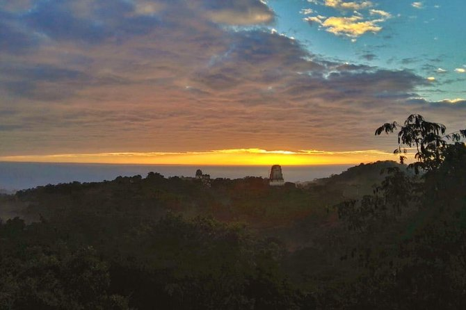Tikal Sunrise photo 1