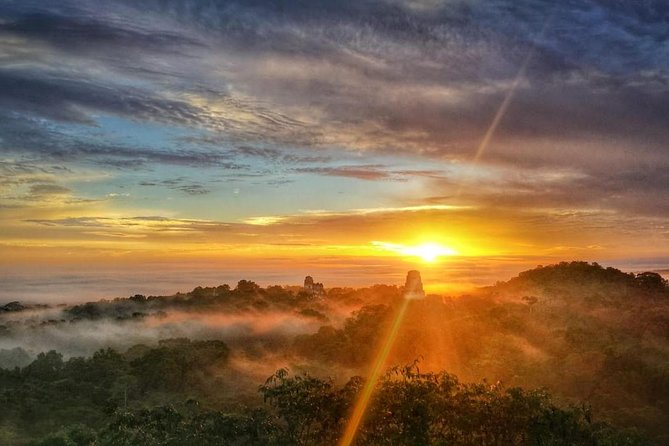 Tikal Sunrise photo 2