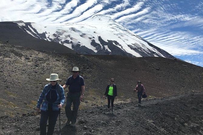 Solitario Hike and Volcan Osorno Petrohue Falls