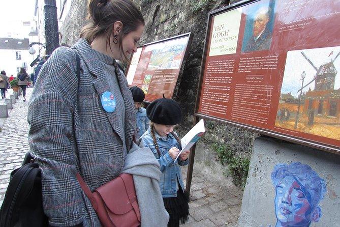Family Treasure Hunt in Montmartre