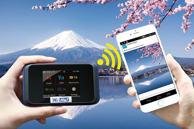 Narita Airport Mobile WiFi Hotspot Rental: 4G LTE Unlimited