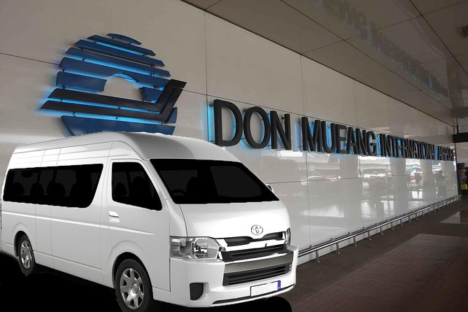 Private Van: Bangkok Don Muang Mini Van Transfer (DMK)