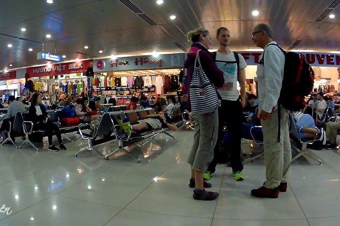 Inside Phu Bai Intl Airport