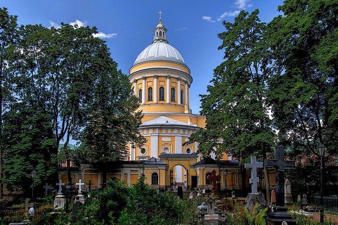 St. Petersburg Metro + Alexander Nevsky Lavra Private Tour