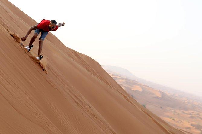 Red Dunes Quad Bike, Camel Ride+Sand Surfing, BBQ Dinner @ VIP CAMP