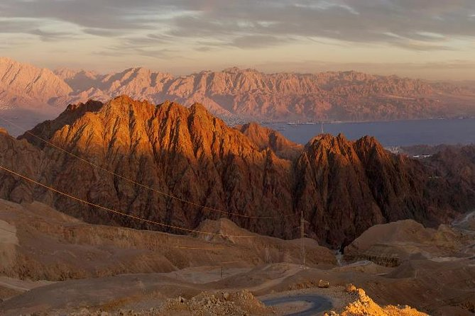 From Eilat: Red Mountains To Red Sea