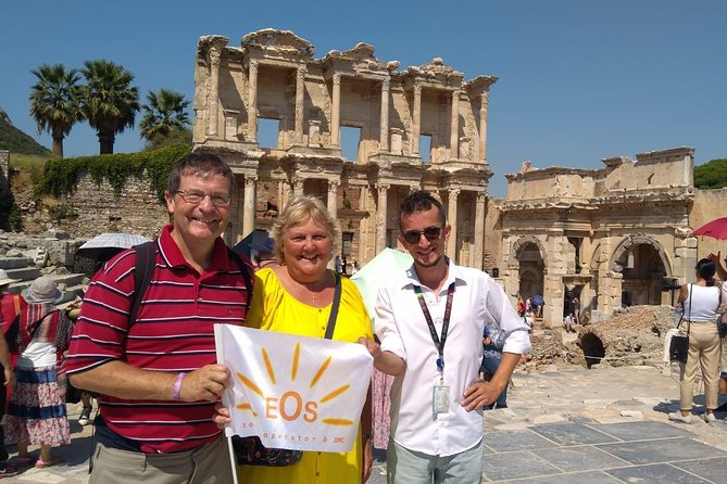 Full Day Ephesus & Virgin Mary's House Tour from Kusadasi