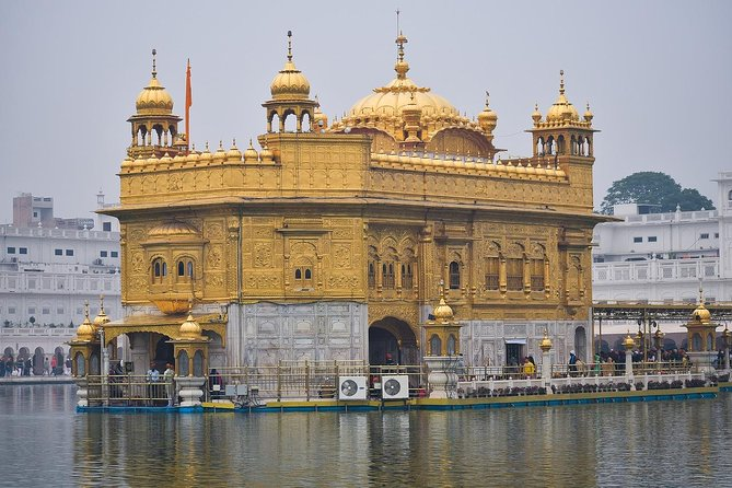 8 Day Golden Triangle Tour with Amritsar Trip