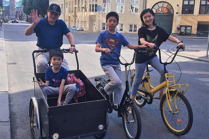 Mandrin-speaking guided bike tour in Copenhagen(3 hours/max 10 person)