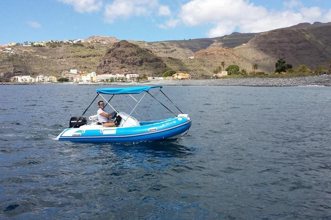 4-hour Boat Rental in Valle Gran Rey no licence required photo 8