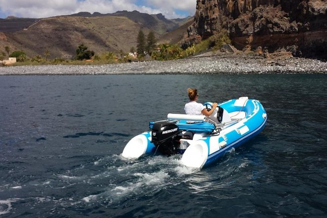 4-hour Boat Rental in Valle Gran Rey no licence required photo 4