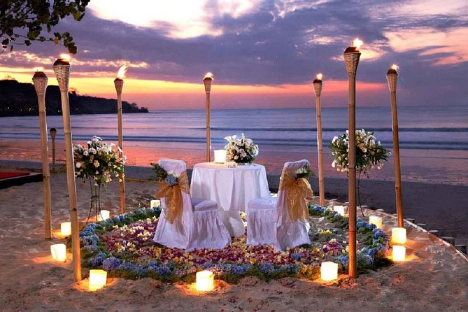 Romantic Dinner at Jimbaran Beach Bali Island