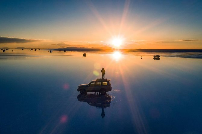 Uyuni Salt With Drone + Sunset / Private Service / English speaking guide
