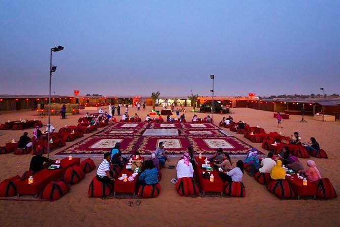 Private - Dinner in Dubai Desert with Camel Ride, BBQ Dinner and Belly Dance