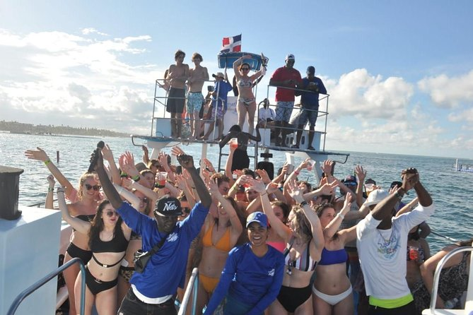 Punta Cana Caribbean Party Boat with snorkeling
