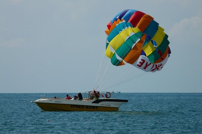 Private Caribbean Party Cruise with Snorkeling and Parasailing