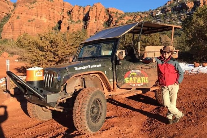 De Outlaw Trail 4x4 Tour door Sedona