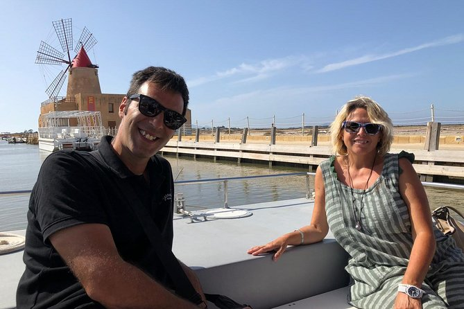 Boat tour of the island of Mothia and Marsala salt flats