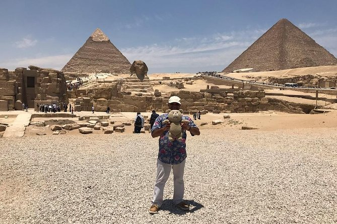 Day Tour Pyramids of Giza and Sphinx from Cairo photo 7