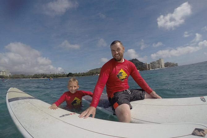 Surfing - Family Lessons - Waikiki, Oahu