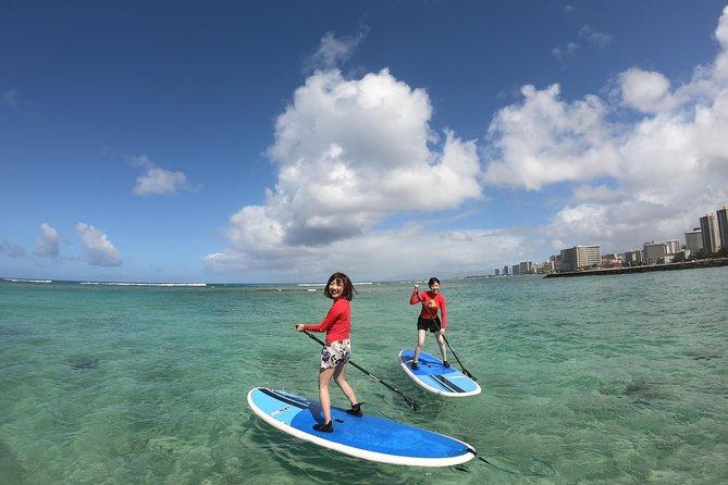 Stand Up Paddleboarding - Semi-Private Lessons - Waikiki, Oahu