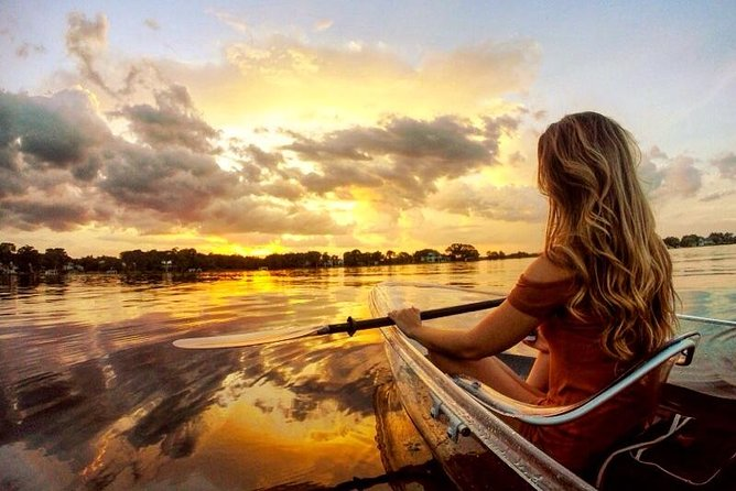 Clear Kayak Sunset Tour through The Winter Park Chain of Lakes