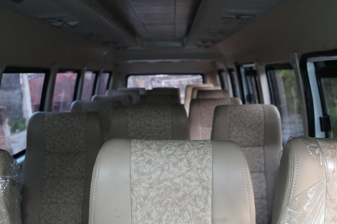 Bali Big Car Charter 19 Seat With English Speaking Driver and Petrol