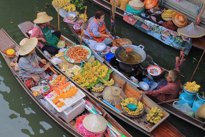 Damnoen Saduak drijvende markt kleine groepsreis