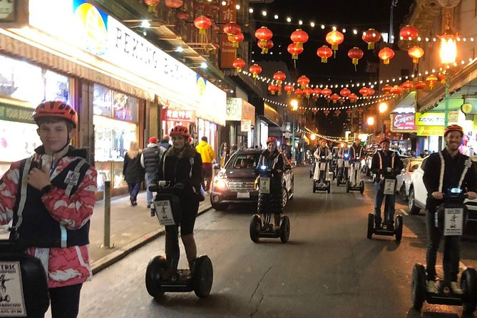 Sunset Chinatown, Little Italy and SF Waterfront Segway Tour - 2.5 Hours