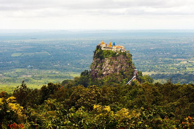Private Day Adventure Trip to Mt. Popa from Bagan