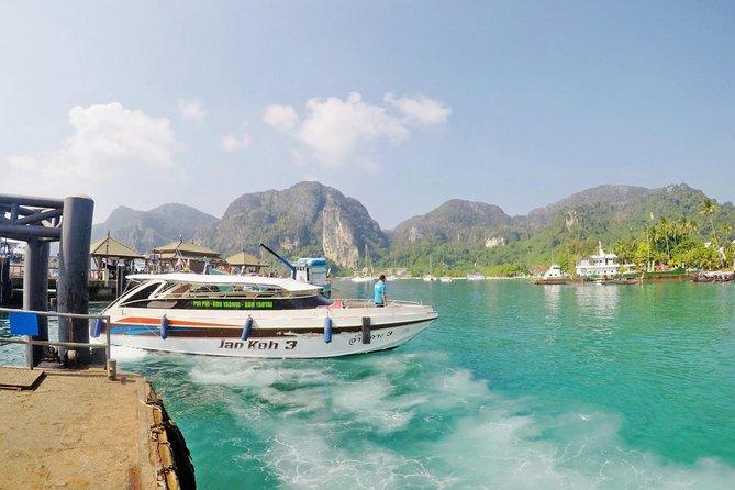 Koh Phi Phi to Phuket by Koh Yao Sun Smile Speed Boat
